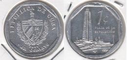 Cuba 1 Centavo 2001 (Tower Of The José Martí) KM#733 - Used - Cuba