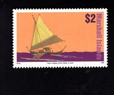 703427197 MARSHALL ISLANDS POSTFRIS MINT NEVER HINGED POSTFRISCH EINWANDFREI  SCOTT 464 SAILING BOAT SHIP - Marshall