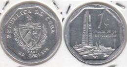 Cuba 1 Centavo 2002 (Tower Of The José Martí) KM#733 - Used - Cuba