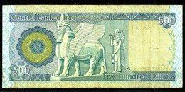 IRAK. 3 Billets De 500 Dinars. - Iraq
