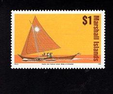 703429003 MARSHALL ISLANDS POSTFRIS MINT NEVER HINGED POSTFRISCH EINWANDFREI  SCOTT 462 SAILING BOAT SHIP - Marshall