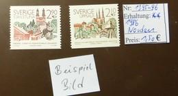 Sverige Norden  MiNr: 1395-96  Postfrisch ** MNH     #4909 - Schweden