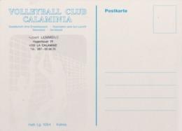 LA CALAMINE KELMIS  Carte Correspondance Volley Ball - Kelmis