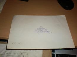 Collector J Novotny Hotel Imperial Liberc Ceskoslovensko 1961 Autographs - Autographs