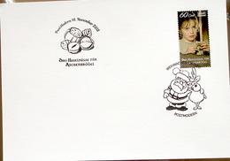 "Germany Local Mail PostModern 2018: ""Drei Haselnüsse Für Aschenbrödel"" 60c Mit O PostModern 16.November 2018 (Santa&Elk) - Contes, Fables & Légendes"