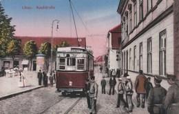 Libau (Liepāja) - Kaufstrasse - Tram - Lettonie