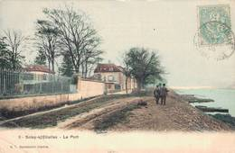 91 9 SOISY SOUS ETIOLLES Le Port (petite Pliure En Bas à G Voir Scan) - France