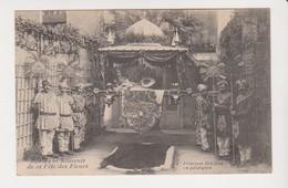 26658 Rennes 35 France Fete Fleurs (1907 )  Princesse Hindoue Palanquin -inde -ed , N° 12 -Beauché - Rennes