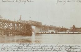 Göritz / Górzyca (Lubusz) 1899 - Carte Photo - Pont / Bridge - Polen