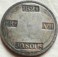 RÉPLICA Moneda 30 Sous. 1821. Rey Fernando VII. Mallorca, España. Guerra De La Independencia Española. Rara - Monedas Provinciales