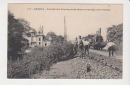 26659 Rennes 35 Arrivée Express Saint Malo - Chateau Touche -ed Mary-R 1156 Train Cheminot Vapeur Locomotive -verdun - Rennes