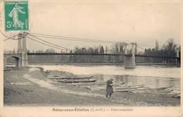 91 SOISY SOUS ETIOLLES Pont Suspendu - France