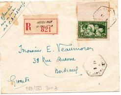 No 269/Env-Seul Cote 300e-Au Profit De La Caisse D'Amortissement-O Bordeaux St Projet A - Postmark Collection (Covers)