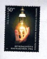 703437559 ICELAND POSTFRIS MINT NEVER HINGED POSTFRISCH EINWANDFREI  SCOTT 1023 REYKDAL POWER STATION CENT - Neufs
