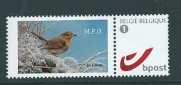 Duostamp  Neuf (**)   Avec N° 4084  De 2011 M.P.0. - 1985-.. Oiseaux (Buzin)