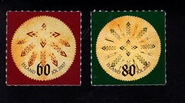 703438822 ICELAND POSTFRIS MINT NEVER HINGED POSTFRISCH EINWANDFREI  SCOTT 1125 1126 CHRISTMAS - 1944-... Republique