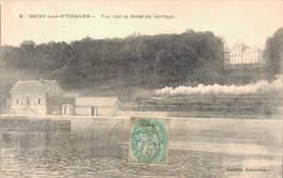 91 6 SOISY SOUS ETIOLLES Vue Sur La Seine Au Barrage - France