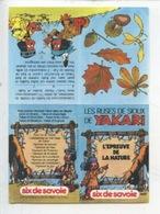 Yakari (Derib) Ruses De Sioux Respectons La Nature - Six De Savoie Fromage Publicité (10X14,5) écologie 2 Scan - Comics