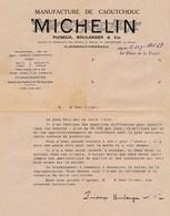 Lot De Documents Michelin CLERMONT-FERRAND 63 - France
