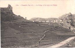 FR66 FENOUILLET - Brun 1350 - Le Village Et Les Ruines Du Château - Belle - Autres Communes