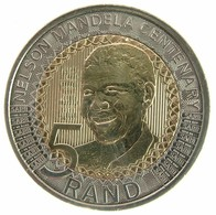 South Africa - 5 Rand Nelson Mandela Centenary - SPL - Zuid-Afrika