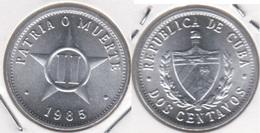 Cuba 2 Centavos 1985 KM#104.2 - Used - Cuba