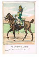 Uniforme.Empire.Cavalerie En Allemagne. 1806.  Illust. K.A.WILKE. ( T.u.116) - Uniforms