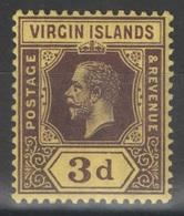 Iles Vierges - Virgin Islands - YT 41 * - Iles Vièrges Britanniques