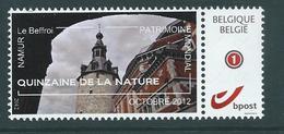 Duostamp  Neuf (**)   Avec N° 4182  Quinzaine De La Nature  Octobre 2012  Le Beffroi De Namur - 1985-.. Oiseaux (Buzin)