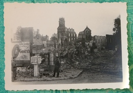 Photo Original De Soldats Allemands à Beauvais 1940 - 1939-45