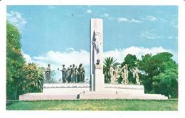 POSTAL   MONTEVIDEO  -URUGUAY  -MONUMENTO A JOSÉ E.RODÓ - Uruguay