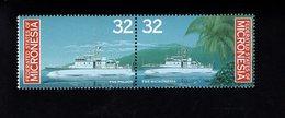 703447921 MICRONESIA POSTFRIS MINT NEVER HINGED POSTFRISCH EINWANDFREI  SCOTT 244A PATROL BOATS SHIPS - Micronésie