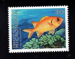 703448653 MICRONESIA POSTFRIS MINT NEVER HINGED POSTFRISCH EINWANDFREI  SCOTT 156 FISH - Micronésie