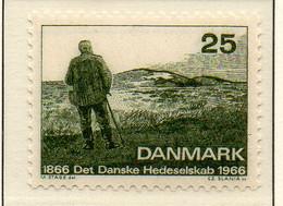 PIA - DANIMARCA -1966 : Centenario Della Società Amici Della Natura   - (Yv 447) - Danimarca
