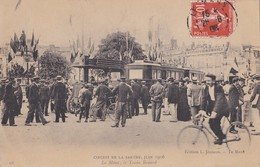 Le Mans Le Train Renard  Circuit De La Sarthe Juin 1906   PRIX FIXE - Le Mans