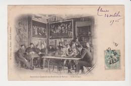 26661 Rennes 35 Association Generale Etudiants -salle Jeux - Ed Simon Cuisnier -cartes Affiche - Rennes