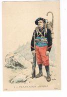 Uniforme. Infanterie Alpine  Illustrateur. POK. ( T.u.128) - Uniformes