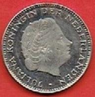 NETHERLANDS  # 21/2 GULDEN FROM 1971 - [ 3] 1815-… : Kingdom Of The Netherlands