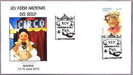Feria Nacional Del Sello - CIRCO - CIRCUS. Madrid 2013 - Circo