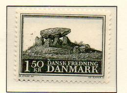 PIA - DANIMARCA -1966 : Salvaguardia Dei Monumenti _ Tumulonello Jutland   - (Yv 451) - Holidays & Tourism