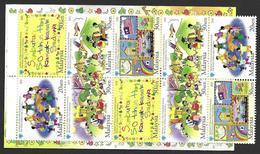 Malaysia 2003 50. Weltkindertag World Children's Day Mi. No.1224-28 C MH Carnet Booklet Mint MNH Postfrisch Neuf ** - Malaysia (1964-...)
