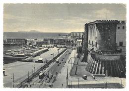 Campania Napoli Capri Da Piazza Municipio Viaggiata 1955 Condizioni Come Da Scansione - Napoli