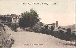 FR66 MOSSET - Brun 112 - Colorisée - Le Village Côté Occidental - Belle - Autres Communes