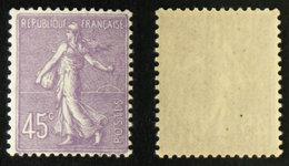 N° 197 45c Semeuse Lignée Neuf N* TB Cote 7€ - 1903-60 Sower - Ligned