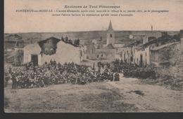 CPA 64 - FONTENOY SUR MOSELLE - L'armée Allemande, Après Avoir Incendié Le Village Le 23 Janvier 1871, - Otros Municipios