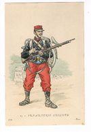 Uniforme. Infanterie Cycliste.  Illustrateur. POK. ( T.u.132) - Uniformes