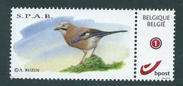 Duostamp  Neuf (**)   Avec N° 4182  S.P.A.B. - 1985-.. Oiseaux (Buzin)