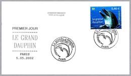 EL GRAN DELFIN - LE GRAND DAUPHIN. SPD/FDC Paris 2002 - Delfines