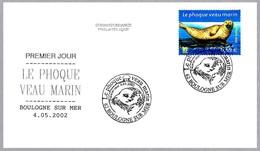 FOCA - LE PHOQUE VEAU MARIN. Phoca Vitulina. SPD/FDC Boulogne 2002 - Mamíferos Marinos