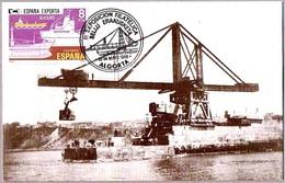 CONSTRUCCION MUELLE DEL PUERTO DE ALGORTA - Construction Harbor Algorta. 1986 - Arquitectura